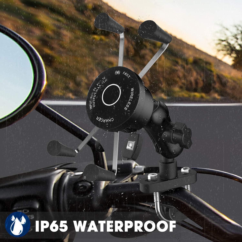 Kriogor Motorradhalterungen 10w Qi Wireless Fast Elektronik