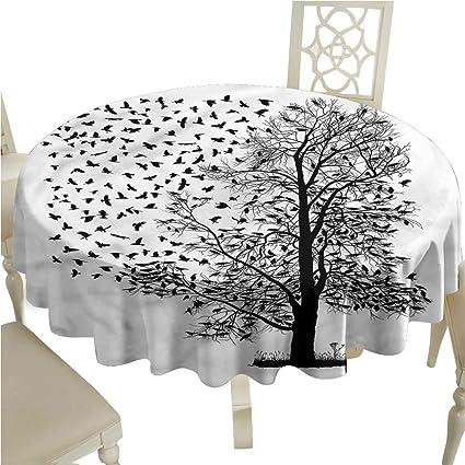 Vintage Porcelain Print Cotton Linen Table Cloth Cover Photography Backdrop