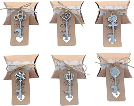gold wedding favor wedding favors for guests bridal shower favors rustic wedding favors Key wedding favors party key bottle openers