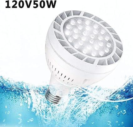 110V 35Watt 6000k Daylight Bright White Swimming Pool LED Light Waterproof Bulb