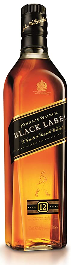 Johnnie Walker Black Label Blended Scotch Whisky 70cl Amazon Co Uk