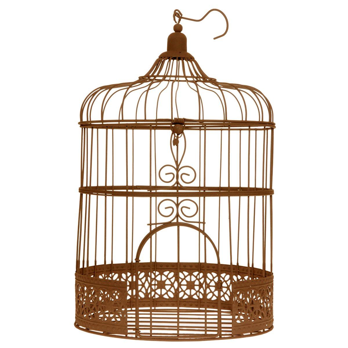 Deko Vogelkäfig 'Rustic' van harte