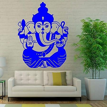 guijiumai Ganesha Adhesivos de Pared Decoración para el hogar Sala ...
