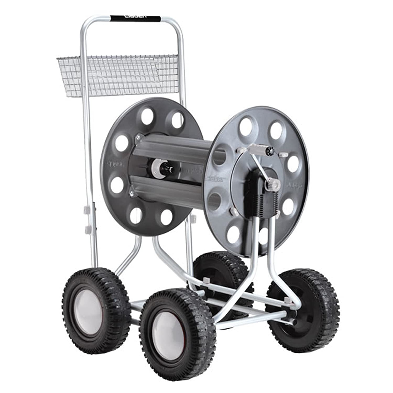 Claber D89000000 – Hose Trolley with 4 Wheels, Jumbo