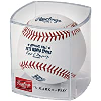 $29 » Rawlings Official Leather 2019 World Series Cubed MLB Baseball - New Factory Sealed - WSBB19 - Game Ball