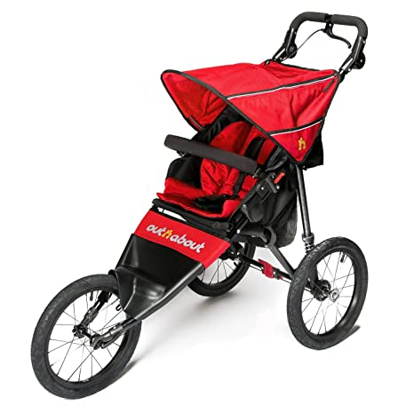 Out N About Silla De Paseo Deportiva V4- Rojo Carnaval