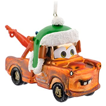 Amazon.com: Hallmark Premium Cars Mater Christmas Ornament: Home ...