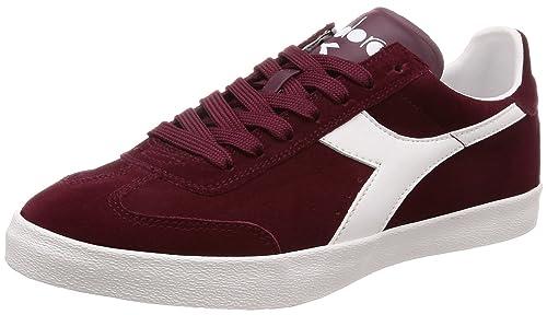 55017 173991 38 Sneakers Diadora Bianco Rosso Pitch ITBxwfpqXw