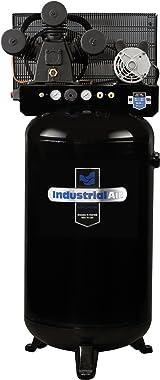 Industrial Air Ila4708065 80-Gallon Hi-Flo Single Stage Cast Iron