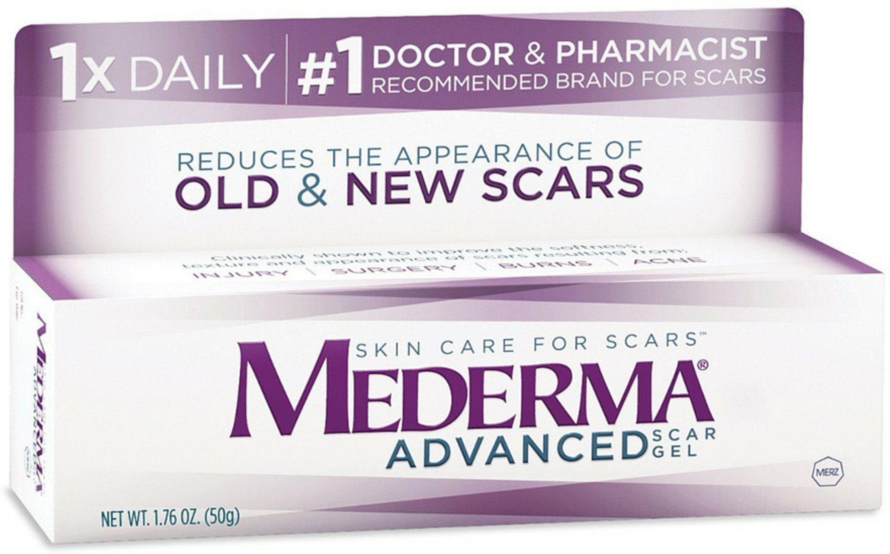Mederma Advanced Scar Gel 50 g (Pack of 10)