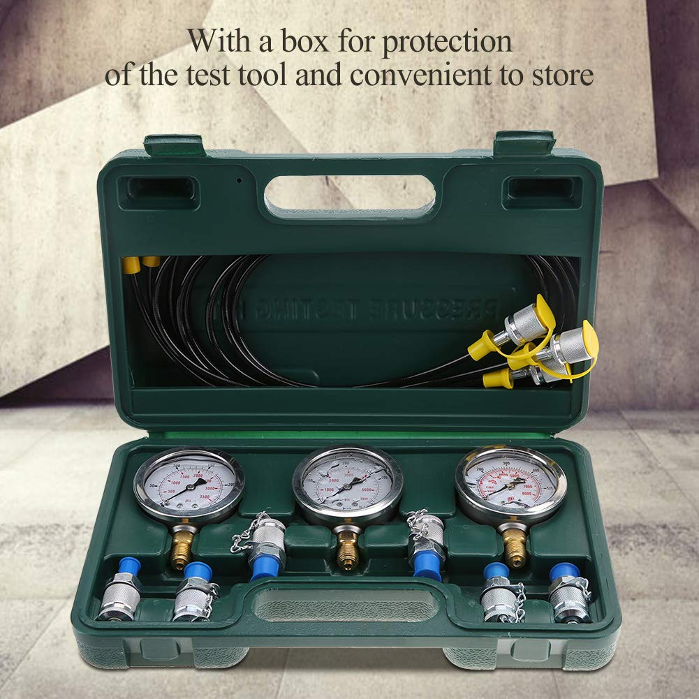 for Construction Machinery Excavator Hydraulic Pressure Gauge Hydraulic Tester