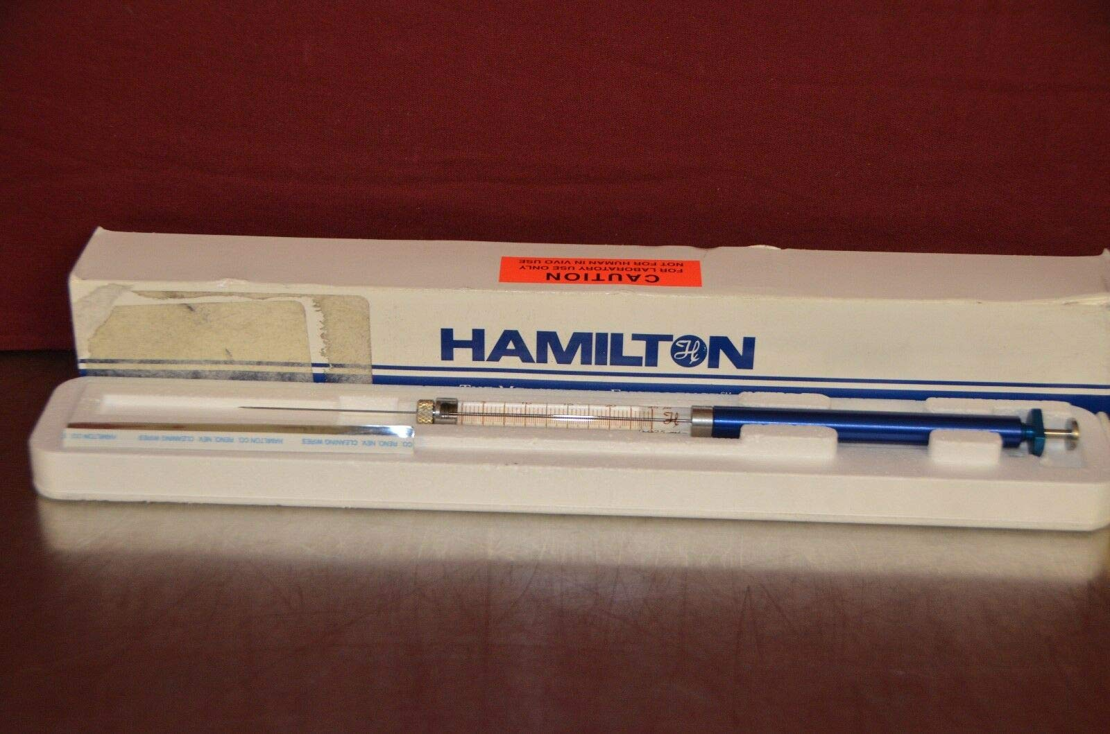 labtechsales Hamilton 1802RN 1800 Series GASTIGHT 25 uL Removable Needle Syringe by labtechsales