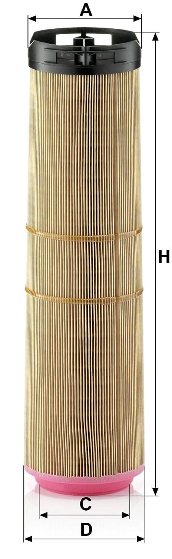 Mann Filter C12178 Air Filter