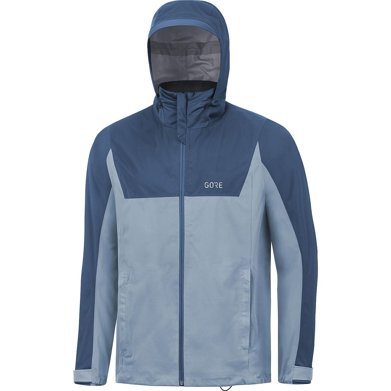 100058 Gore Wear Hombre Chaqueta Impermeable con Capucha para Correr Gore R3 Gore-Tex Active Hooded Jacket