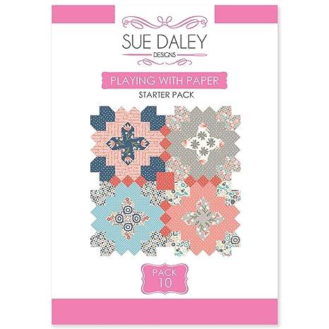 Sue Daley Designs Juego con paquete de iniciación de papel ...