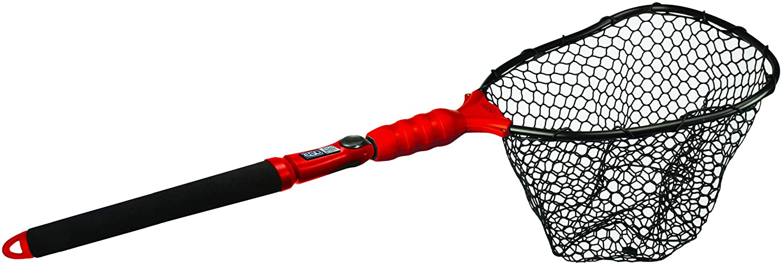 "EGO S2 Slider Fishing Net, Ultimate Fishermen's Tool, Telescoping Handle, Replaceable Head, Salt & Freshwater, 2 Year Warranty, 18-36"" Handle"