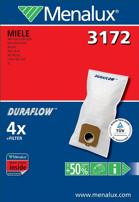Amazon.com: Menalux Duraflow 3172 - Bolsas para aspiradora ...
