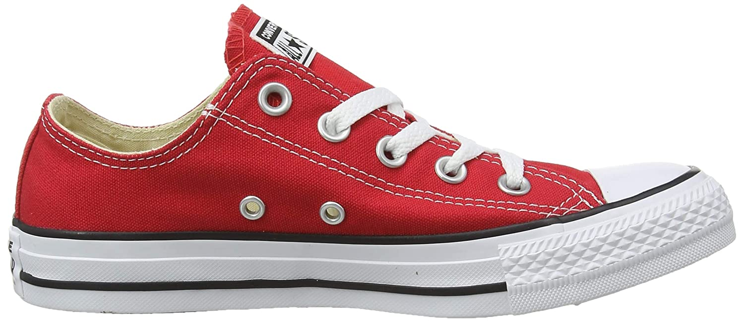 Converse Unisex-Erwachsene Chck Taylor All (Bordeaux) Star OX Sneaker Rot (Bordeaux) All 1fdac0