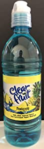 Clear Fruit Pineapple Water Beverage 16.9oz - Case of 24