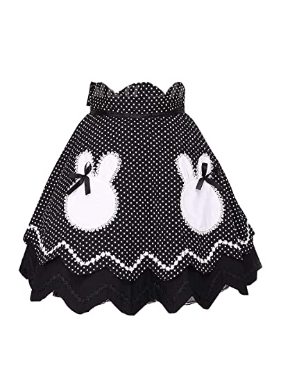Antaina Negra Volantes Encaje Blanca Rabbit Pattern Lunares Sweet ...