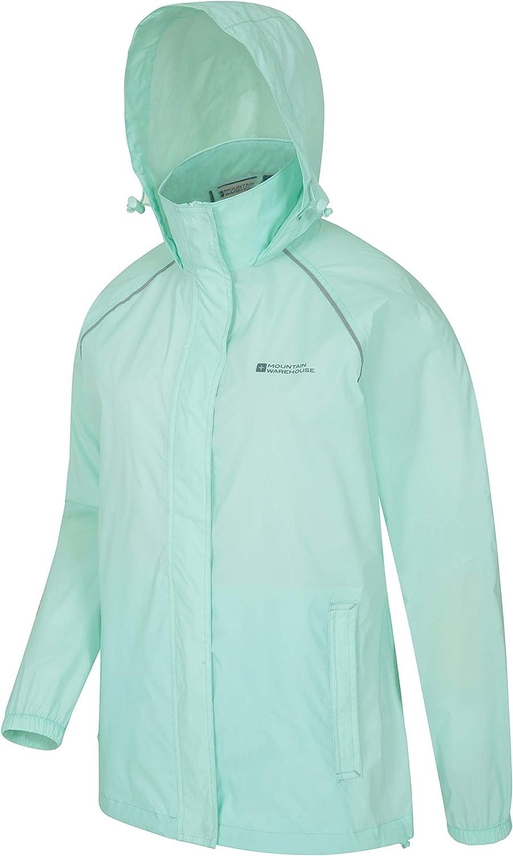 Mountain Warehouse Pakka Womens Lightweight Waterproof Jacket