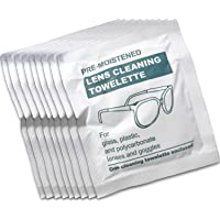 "Toallitas para limpiar las gafas MEDca pre humedecidas con dispensador ""EMPAQUE DE 200"""