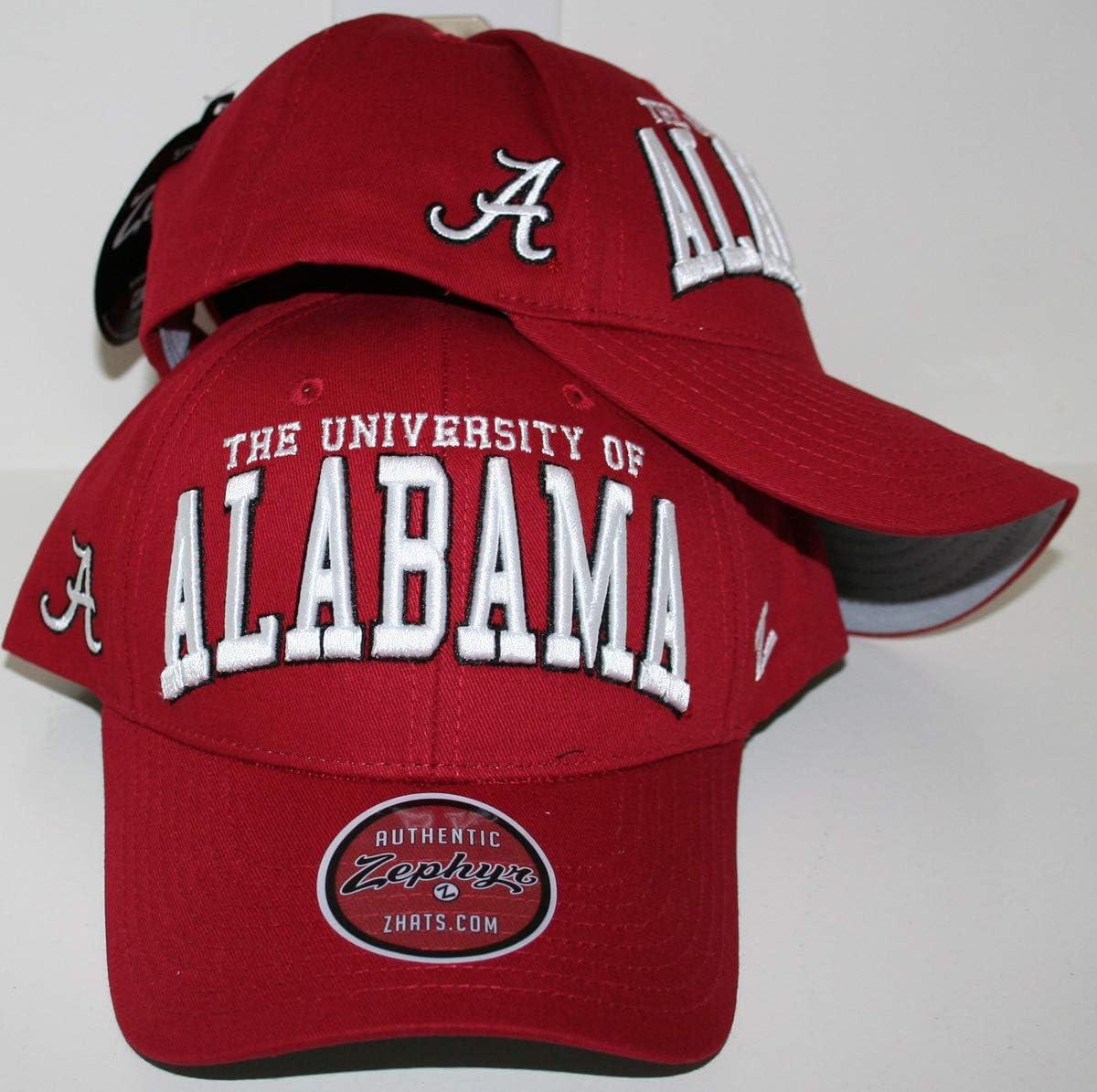 Zephyr University of Alabama Crimson Tide Dark Bama Red Broadcast ...