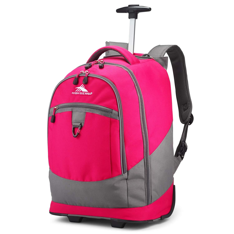 High Sierra Unisex Chaser Wheeled Laptop Backpack, fits17-inch Laptop Backpack by High Sierra