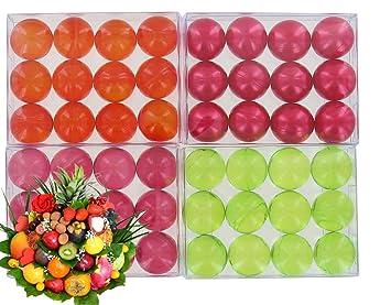 4 scatole di 12 perle da bagno - frutta lotto: Amazon.it: Bellezza