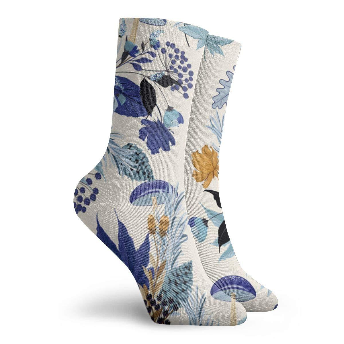 Autumn Garden Unisex Funny Casual Crew Socks Athletic Socks For Boys Girls Kids Teenagers