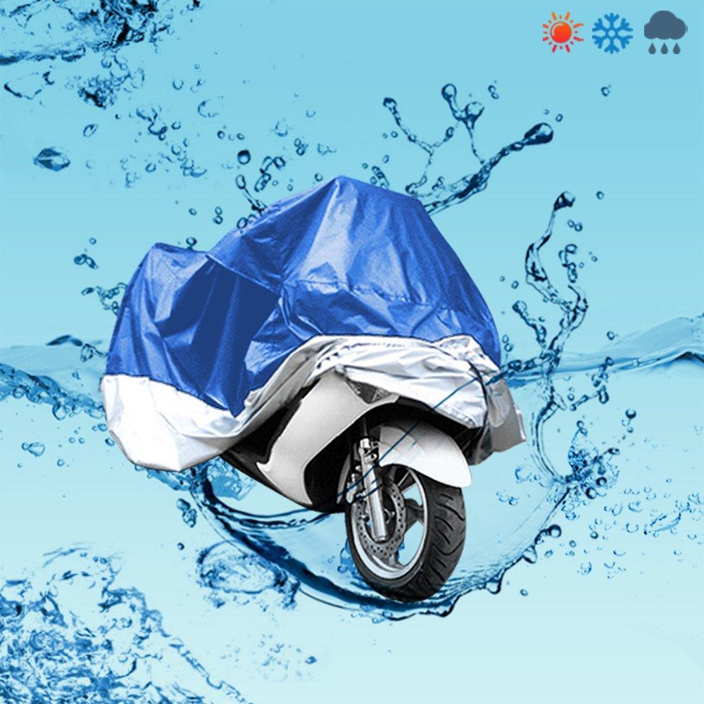 Funda Protector de Polyester Talla XXL 265cm Cubierta con Bolsillo para Moto Motocicleta Color Camuflaje CLE DE TOUS