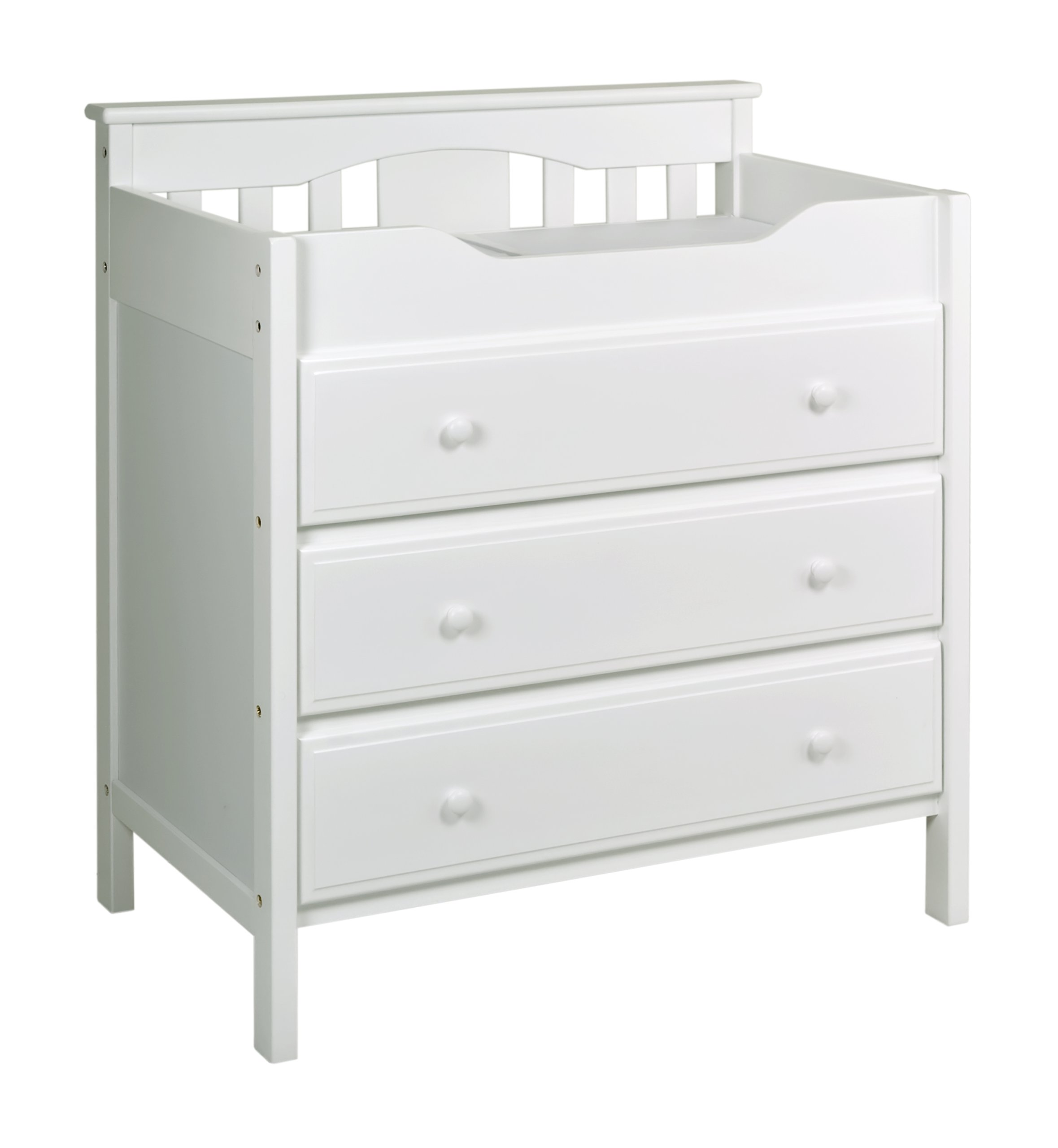 Amazon Com Davinci Jayden 4 Drawer Dresser White Baby
