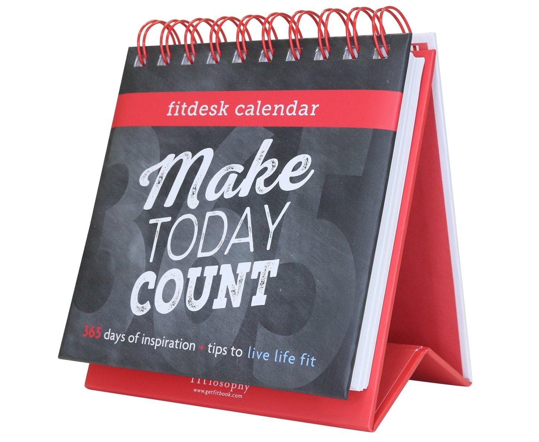 Fitlosophy Fitdesk 365-Day Perpetual Calendar