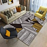 Modern Geometric Area Rug And Carpet For Home Living Room Bedroom Bedside Large Anti Slip Floor Home Door Mat@A01_180x280CM