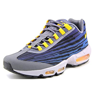 huge discount a763c ab297 Nike Air Max 95 Jacquard Mens Running Shoes 644793-401 Deep Royal Blue 8 M