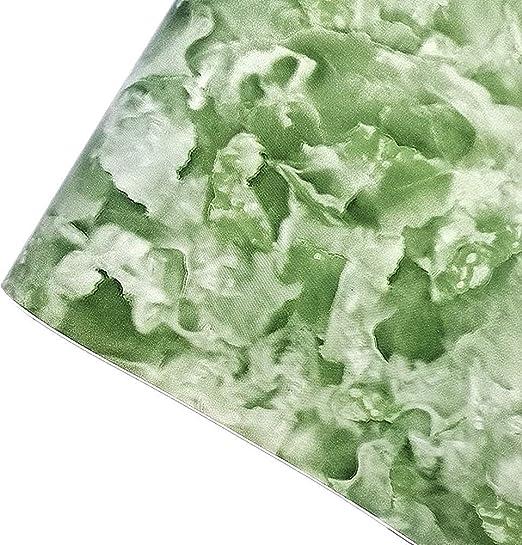 Amazon Com Mullsan Green Seaweed Marble Look Peel And Stick