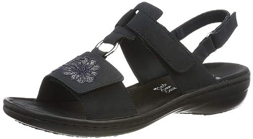 Rieker Damen 608d3 14 Geschlossene Sandalen