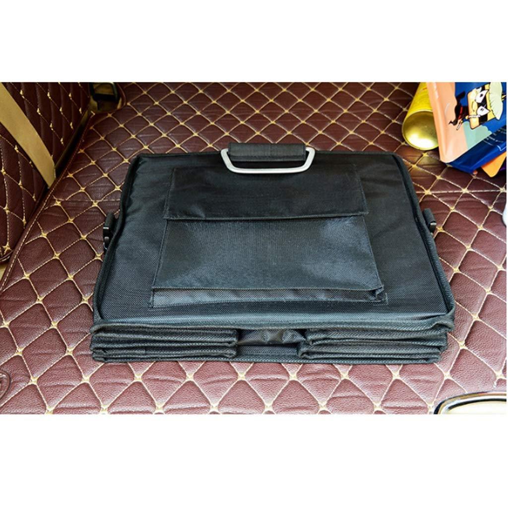 Car Storage Box Car Storage Box Trunk Storage Box Multi-Function Shape Folding Car Storage Box Glove Box (Color : Gray, Size : L) by Cxp Boutiques-Car Boot Bags (Image #4)