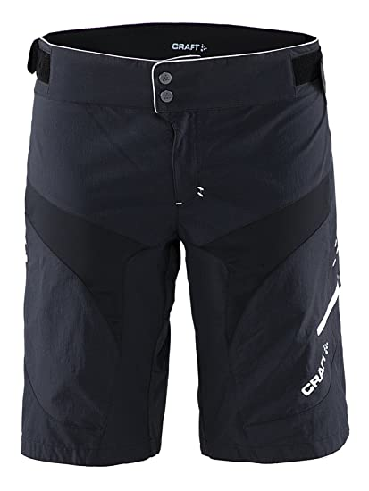 Craft Sportswear Women s Trail Mountain Bike Cycling Shorts with Inner  shorts and Zippered Pockets  protective 0e109638b