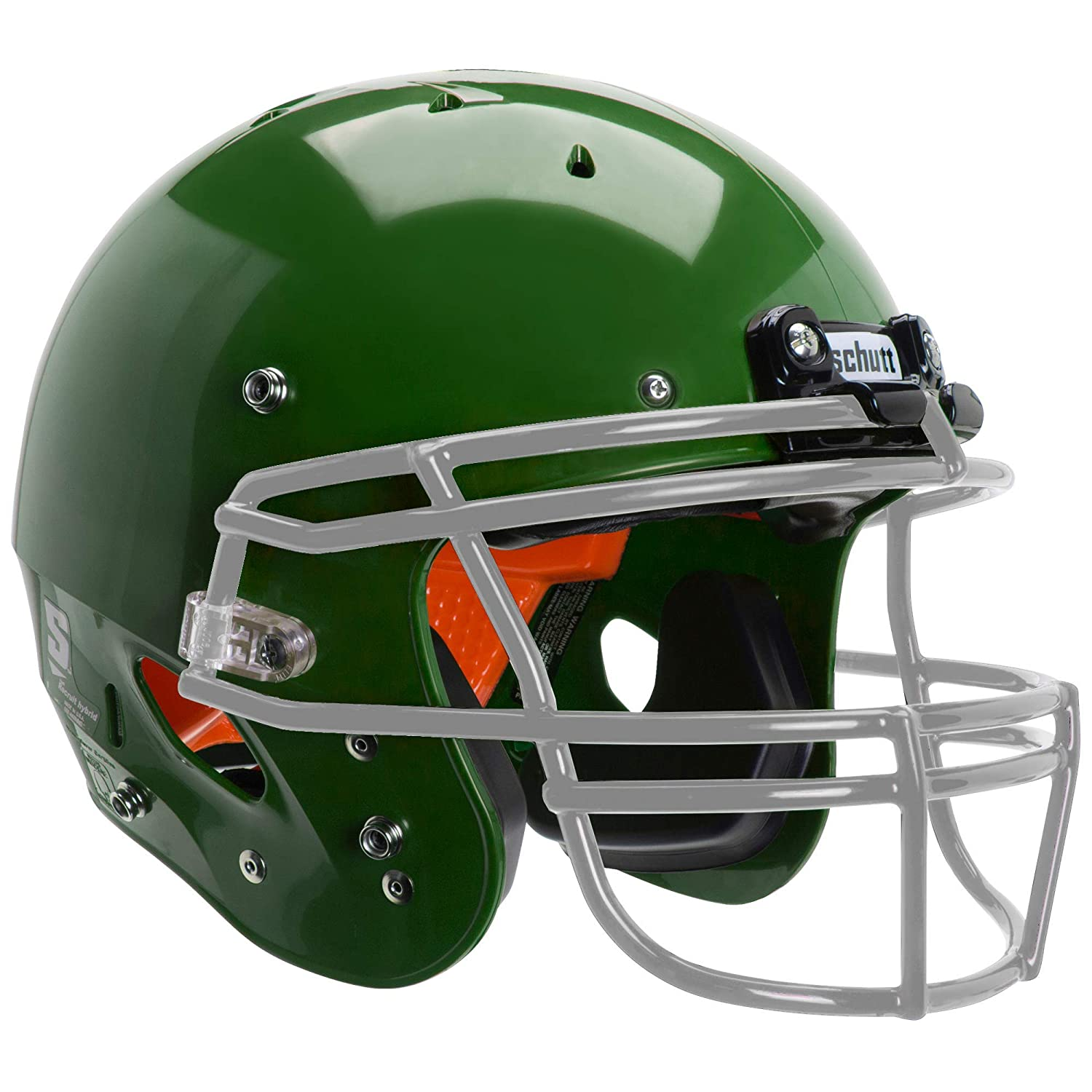 900a53b63c50 Amazon.com   Schutt Sports Recruit Hybrid Youth Football Helmet (Facemask  NOT Included)   Sports   Outdoors