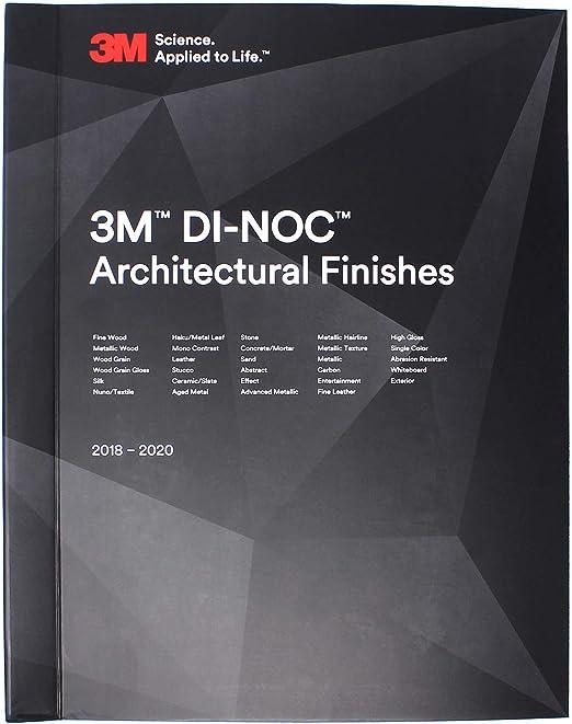 DI-NOC Architectural Finishes Trendline Farbfächer 3M