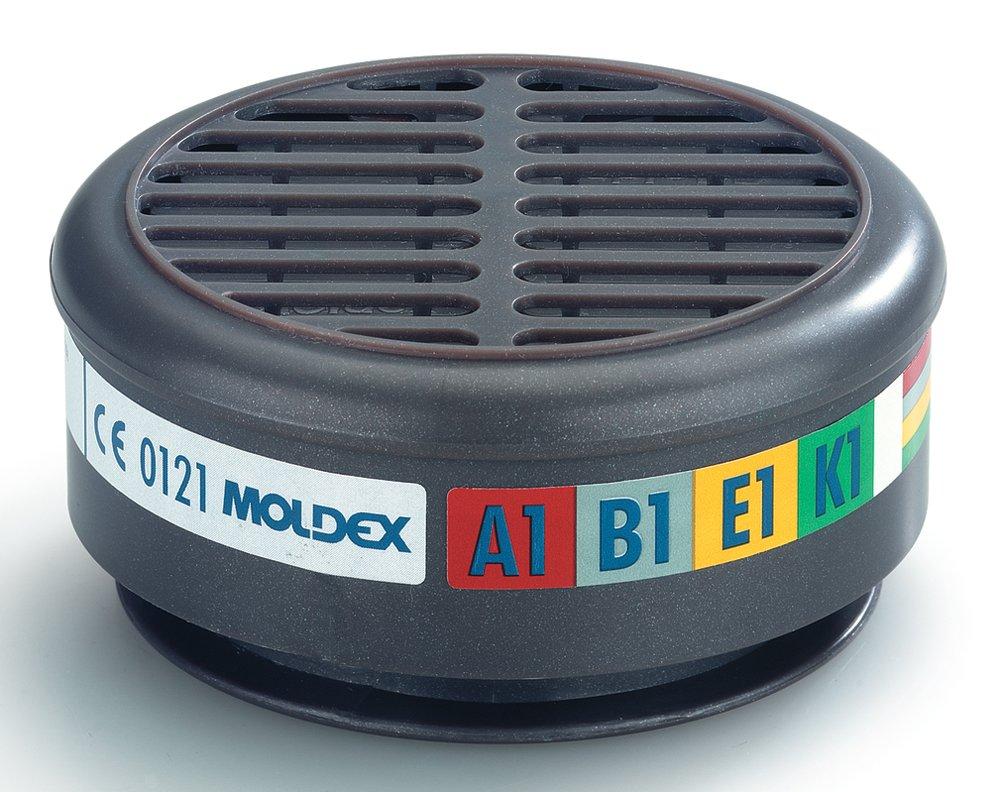 MOLDEX Filtros de conexión radial, adecuados para la serie 8000 (Pack de 2)