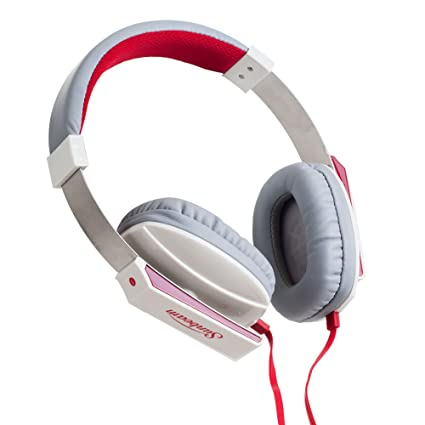 3e0e7831953 Image Unavailable. Image not available for. Color: Sunbeam 72-SB650W Stereo  Big Bass Headphones with Microphone ...
