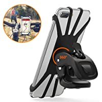 """Vobon Supporto Bici Smartphone, Porta Cellulare Bici 360°Rotabile Universale Supporto Telefono da Bici e Moto per Bicicletta Ciclismo, GPS Nacigatore e Altri Dispositivi Elettronici (4.5""""- 6.2"""")"""