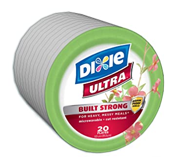 Dixie Ultra Paper Plates 10 1/16 Inches 200 Count  sc 1 st  Amazon.com & Amazon.com: Dixie Ultra Paper Plates 10 1/16 Inches 200 Count ...