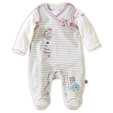 Bornino Grenouillère avec T-Shirt à Manches Longues bébé Ensemble bébé   Bornino  Amazon.fr  Vêtements et accessoires d41993ab7a6