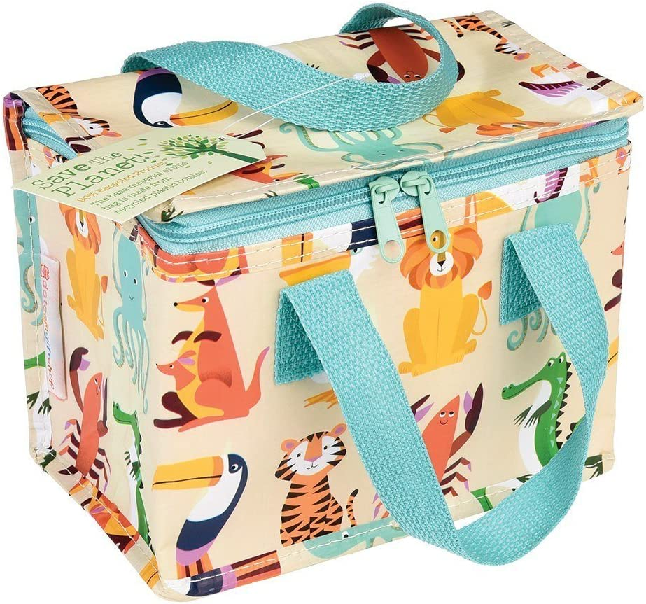 Insulated Childrens Lunch Bag Colourful Creatures /Choice of Design