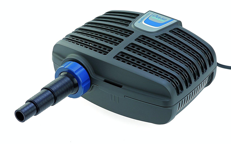 Oase AquaMax Eco Classic 8500 filter and stream pump.