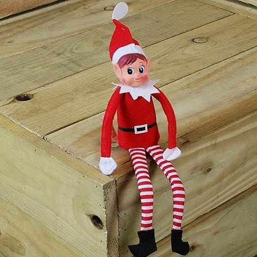 Amazon Com Elves Behavin Badly 12 Vinyl Faced Naughty Girl Elf Doll Home Kitchen