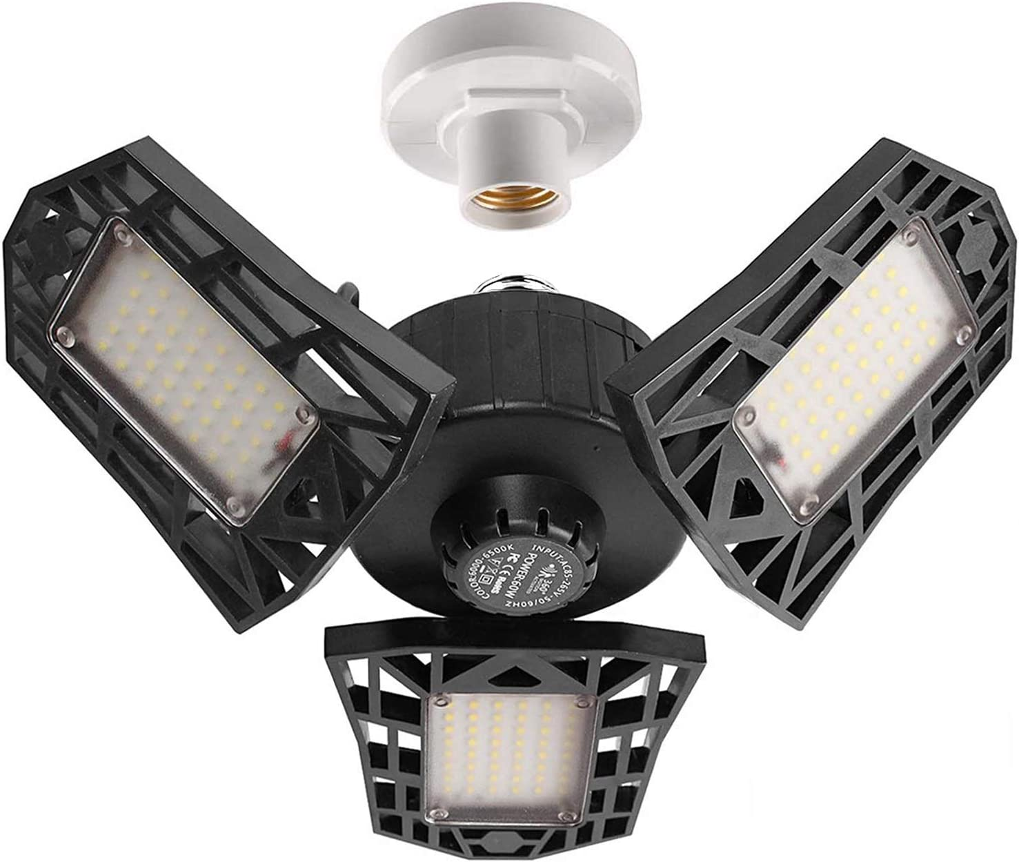 GHUSTAR 2-Pack LED Garage Lighting